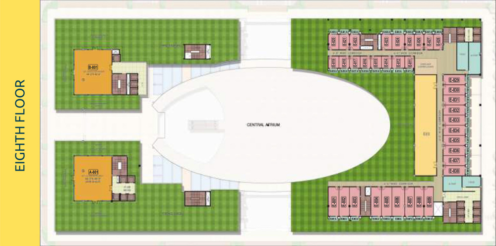 PKS Town Central Eight Floor plan