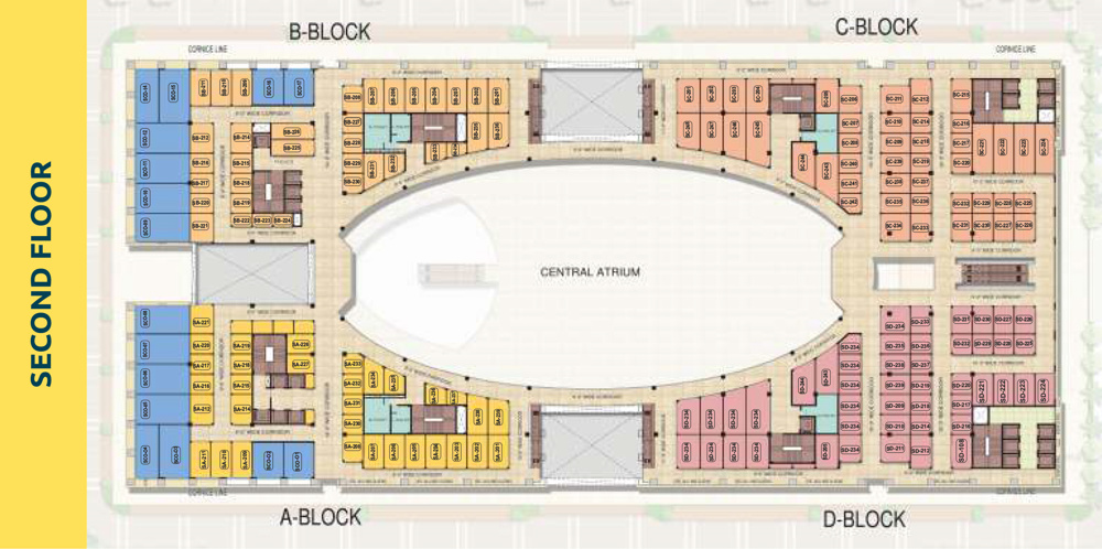 PKS Town Central Second Floor plan